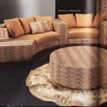 22 окт 2014 Объедините полукруглый диван с другой мебелью, расставив их полукругом. . Во-первых, это поможет создать