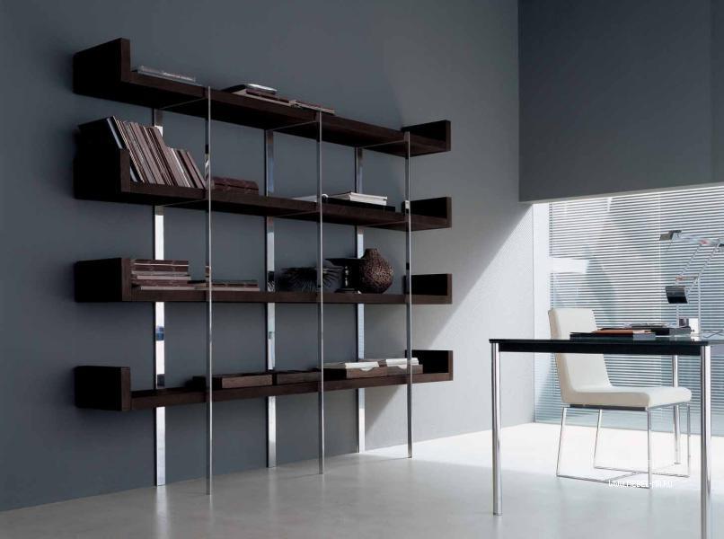 Книжный стеллаж shelf-service.