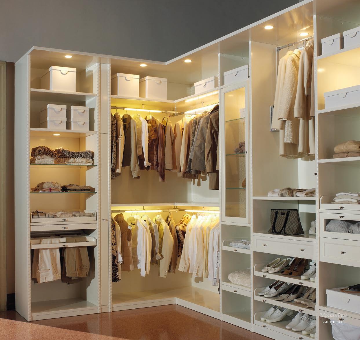 шкворни подсветка в гардеробной комнате фото описание процесса