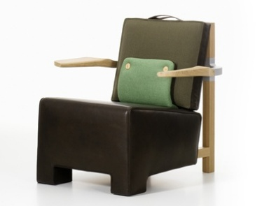 Кресло The Worker Armchair, Vitra