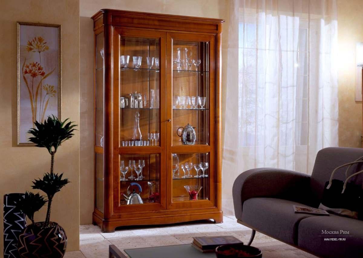 Буфет со стеклянными створками, busatto - мебель мр.