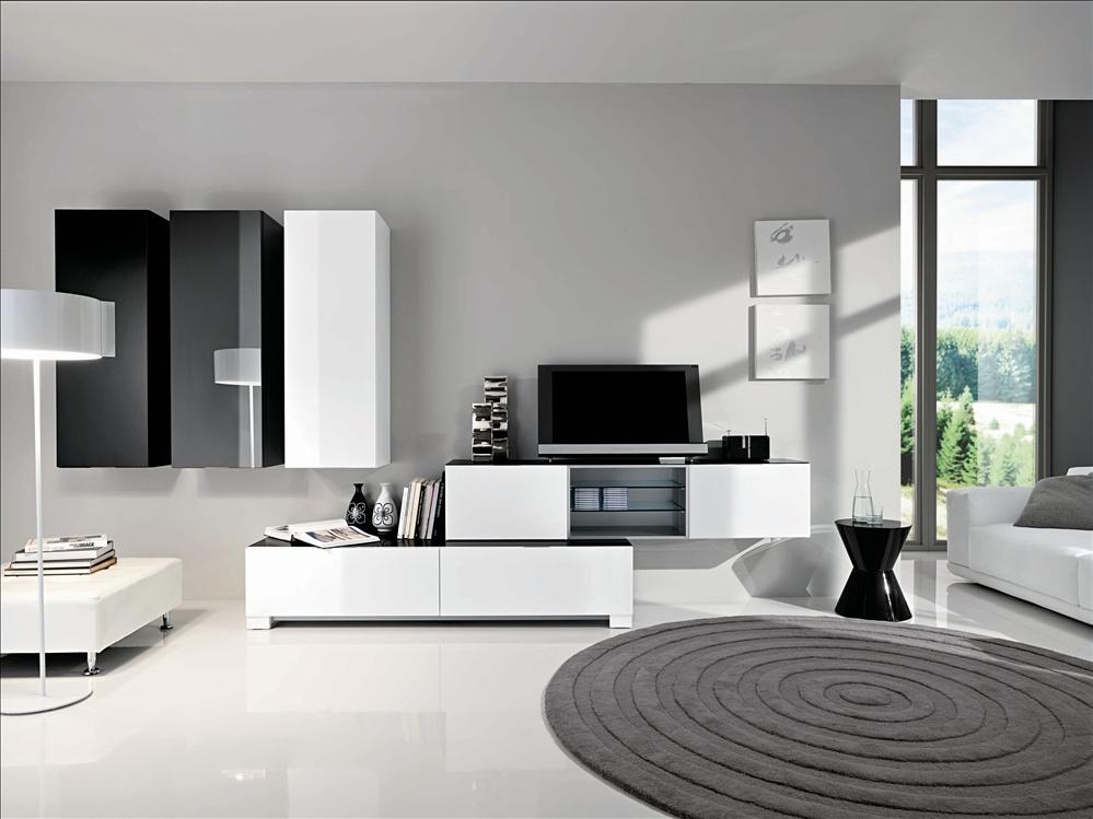 модульная система для гостиной Mercantini мебель мр
