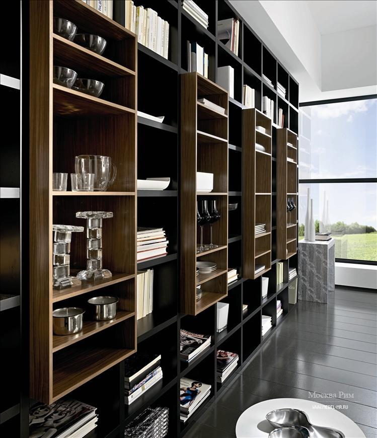 Книжный шкаф, mercantini - мебель мр.