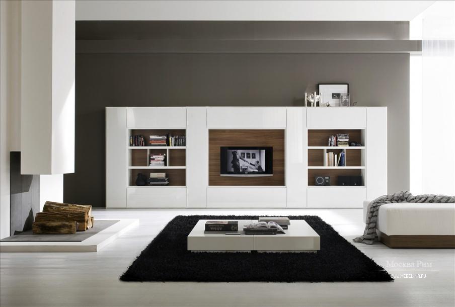 модульная система для гостиной Md House мебель мр