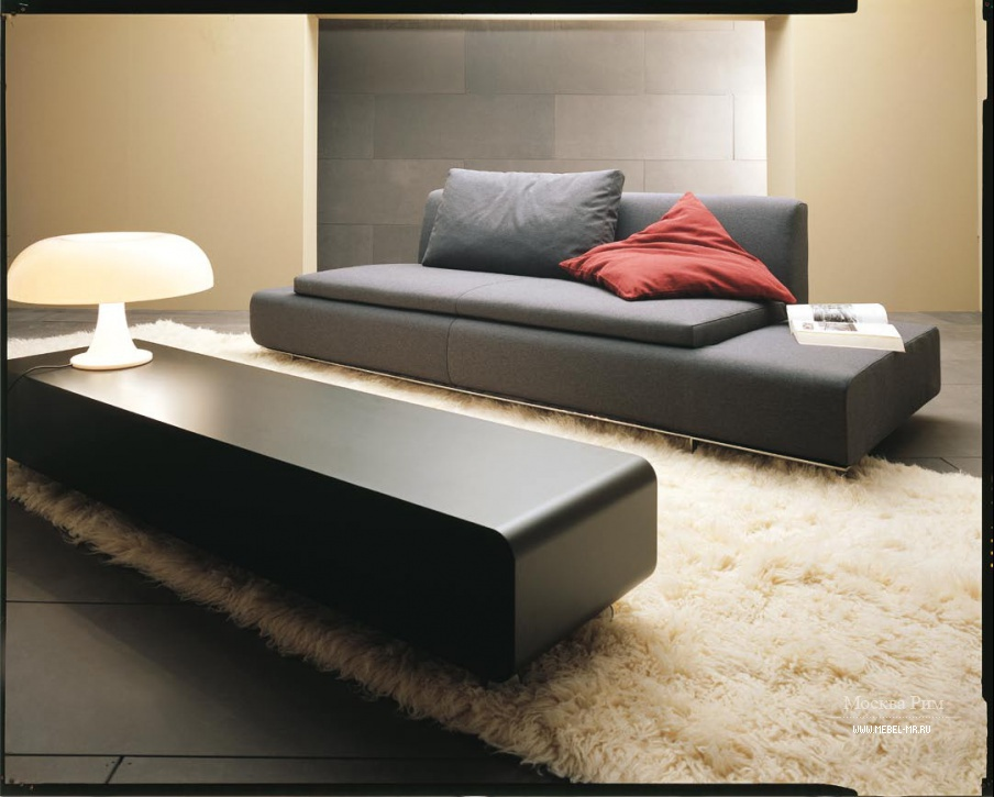 Modular fabric sofa forum linea italia