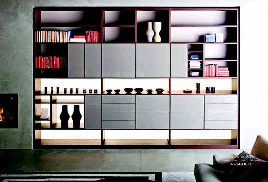 Стенка Home Book, Molteni
