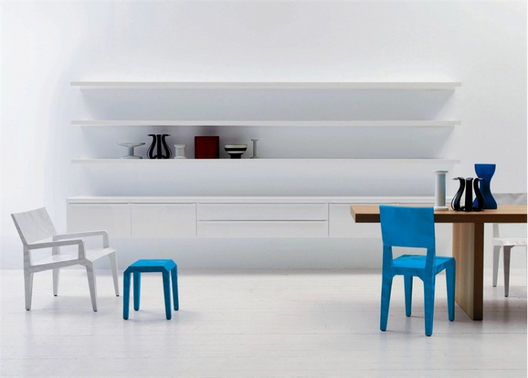 Табурет Mr Bugatti (low stool), Cappellini