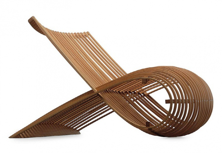 Кресло Wooden Chair, Cappellini