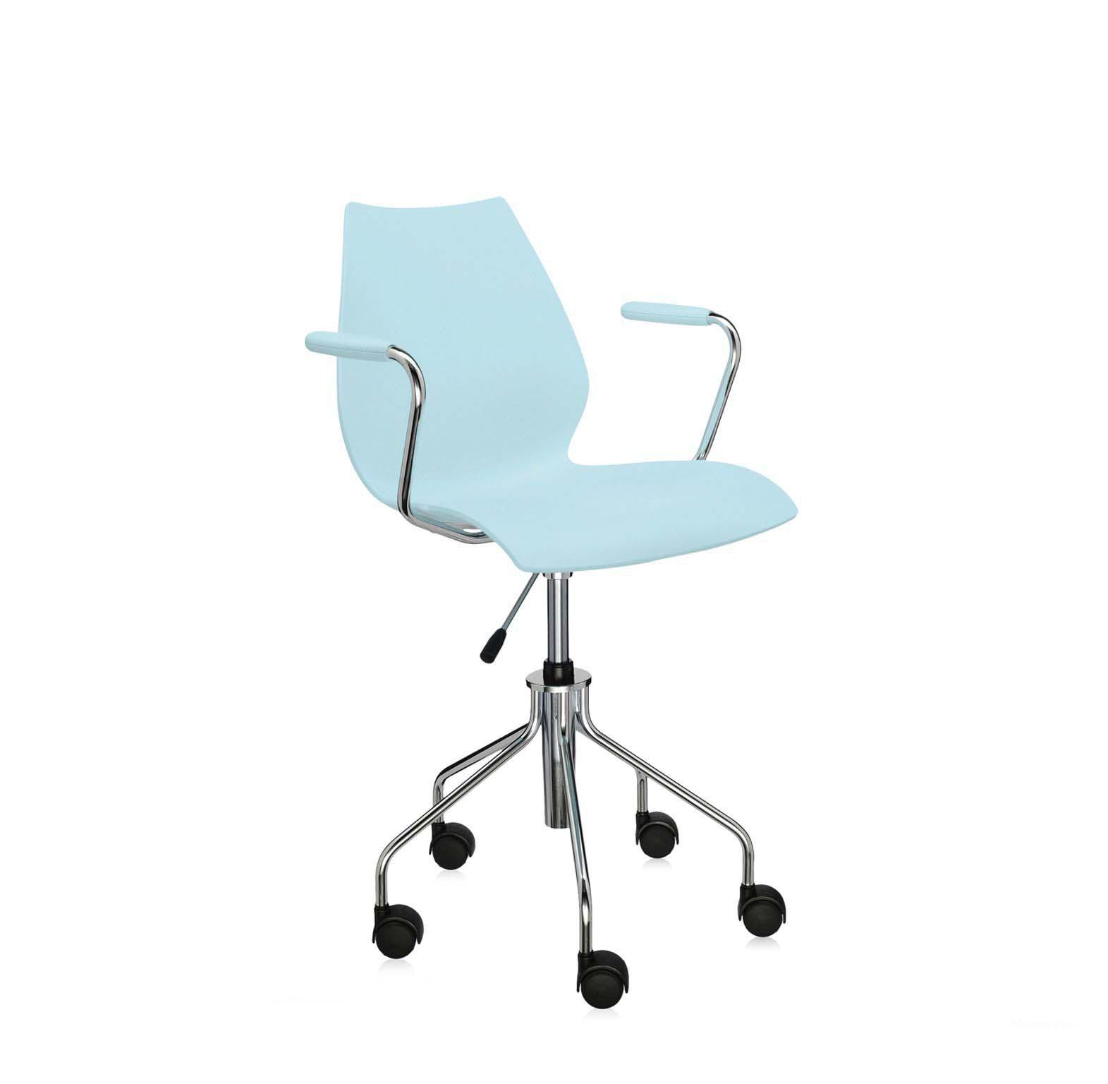 Кресло на колесиках Maui Armchair Kartell Мебель МР