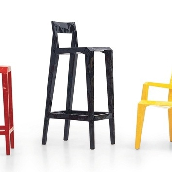 Барный стул Mr Bugatti (high stool), Cappellini