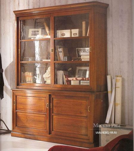 Шкаф книжный, assi d'asolo - мебель мр.