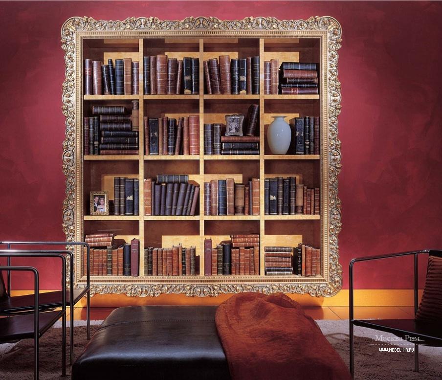 Стеллаж из массива дерева, elledue - мебель мр.