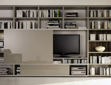 Книжный шкаф Mega-design tv unit, Hulsta