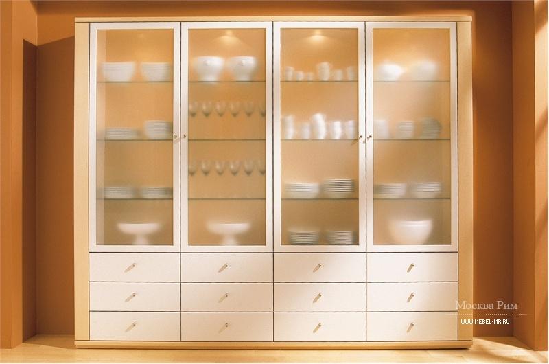 Витрина с застекленным фасадом spectrum cabinet, hulsta - ме.