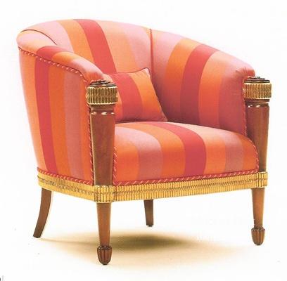Кресло с круглой спинкой