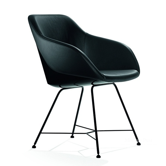 Стул turtle black, Walter Knoll
