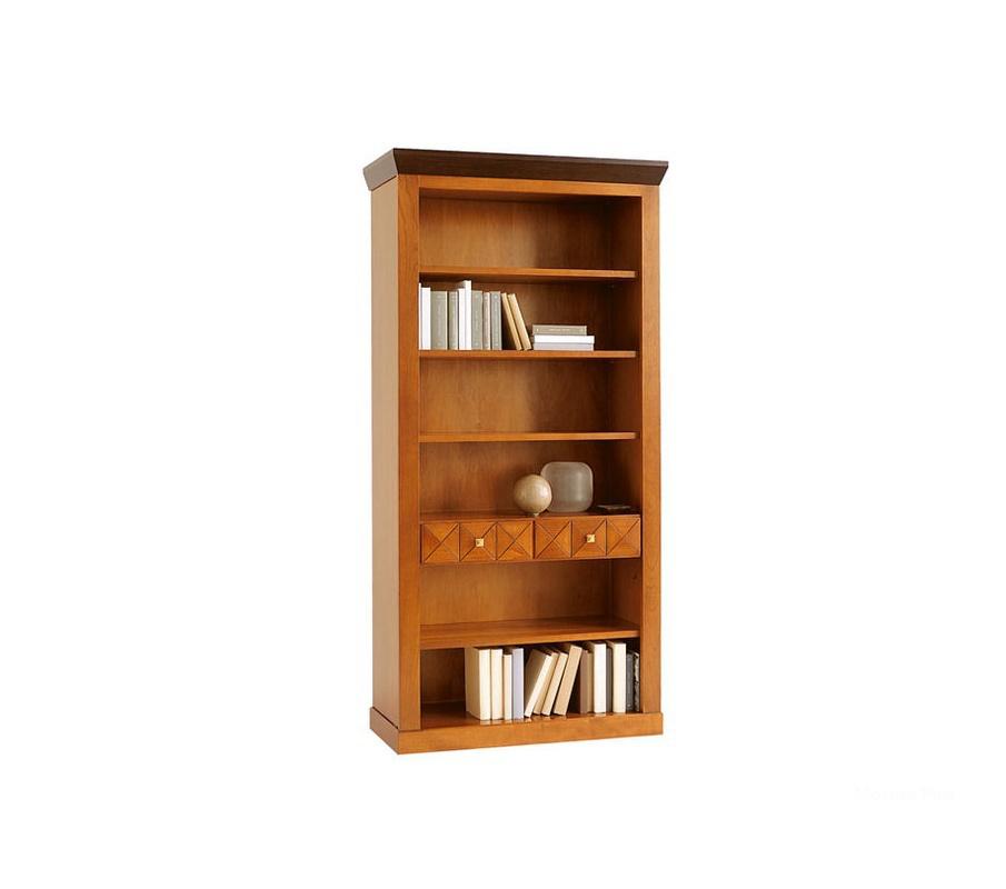 Книжный шкаф giotto e8181 (кабинеты selva) итальянская мебел.