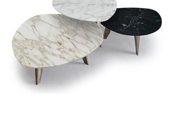 Журнальный столик 9500 marble top table, Vibieffe