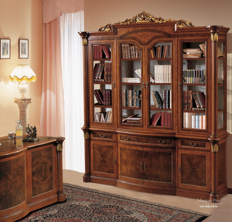 Книжный шкаф - библиотека - bianchini firenze.