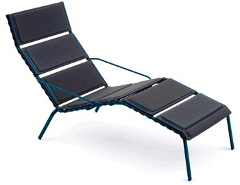 Шезлонг Striped Chaise Longue, Magis