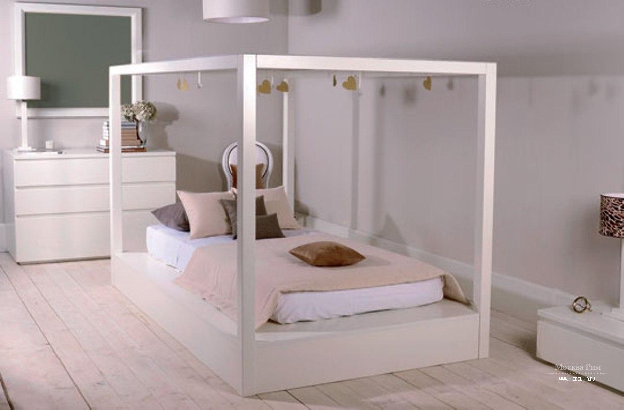 кровать с балдахином для детской Anna Babby Room мебель мр