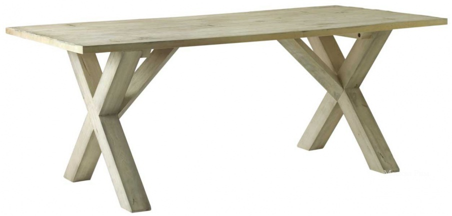 Обеденный стол, X-Leg Dining Table - Andrew Martin