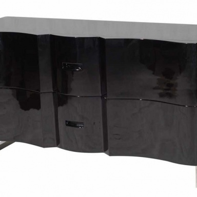 Комод Godolfin Black Gloss Sideboard