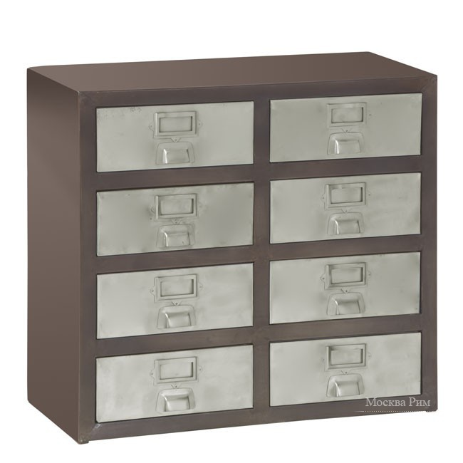 Металлический комод, Highfield Chest Of Drawers - Andrew Martin