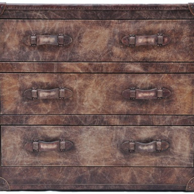 Комод Howard Chest Of Drawers Vintage Leather