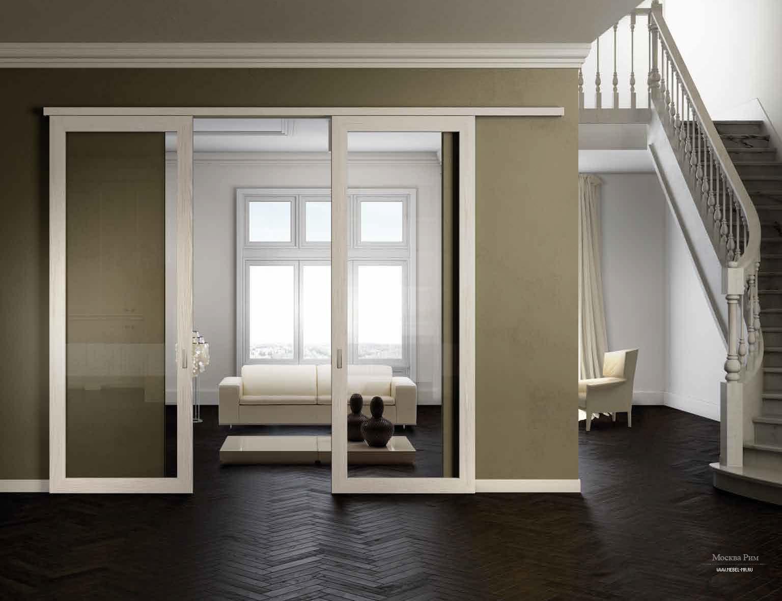 Роликовые межкомнатные двери как монтаж 20 фотография