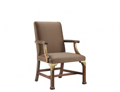 Стул Square Back Arm Chair, Baker