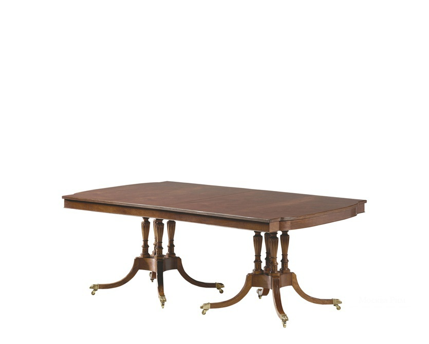 Стол Russell Double Pedestal Dining Table, Baker
