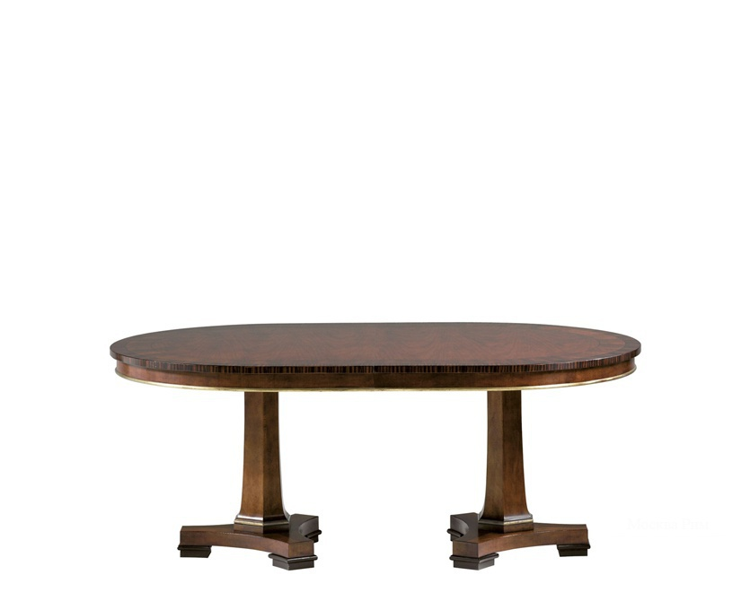 Стол Double Pedestal Dining Table, Baker