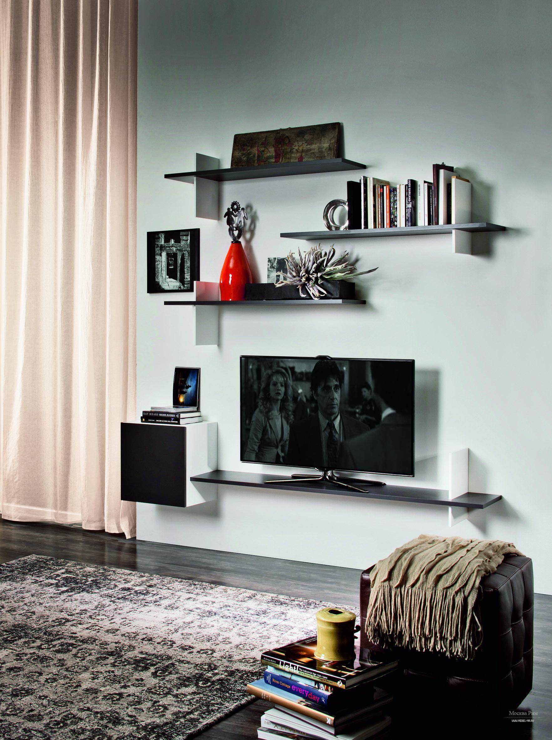 Полки в гостиную - 66 фото лучших идей красивого и удобного .