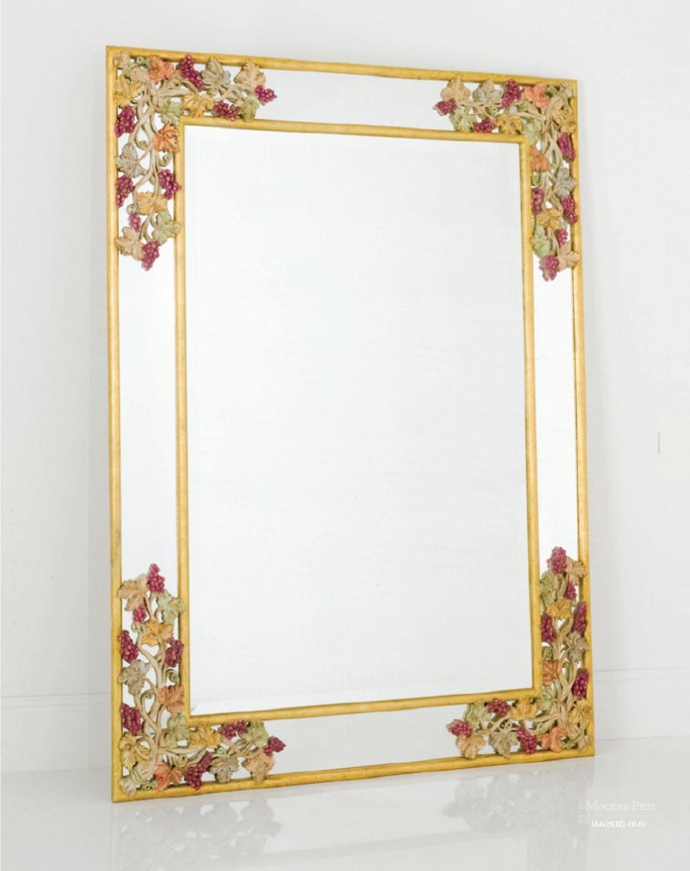 Как украсить прямоугольное зеркало своими руками