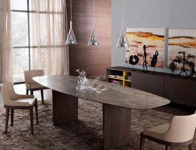 Обеденный стол, Contemporary dining table - MisuraEmme