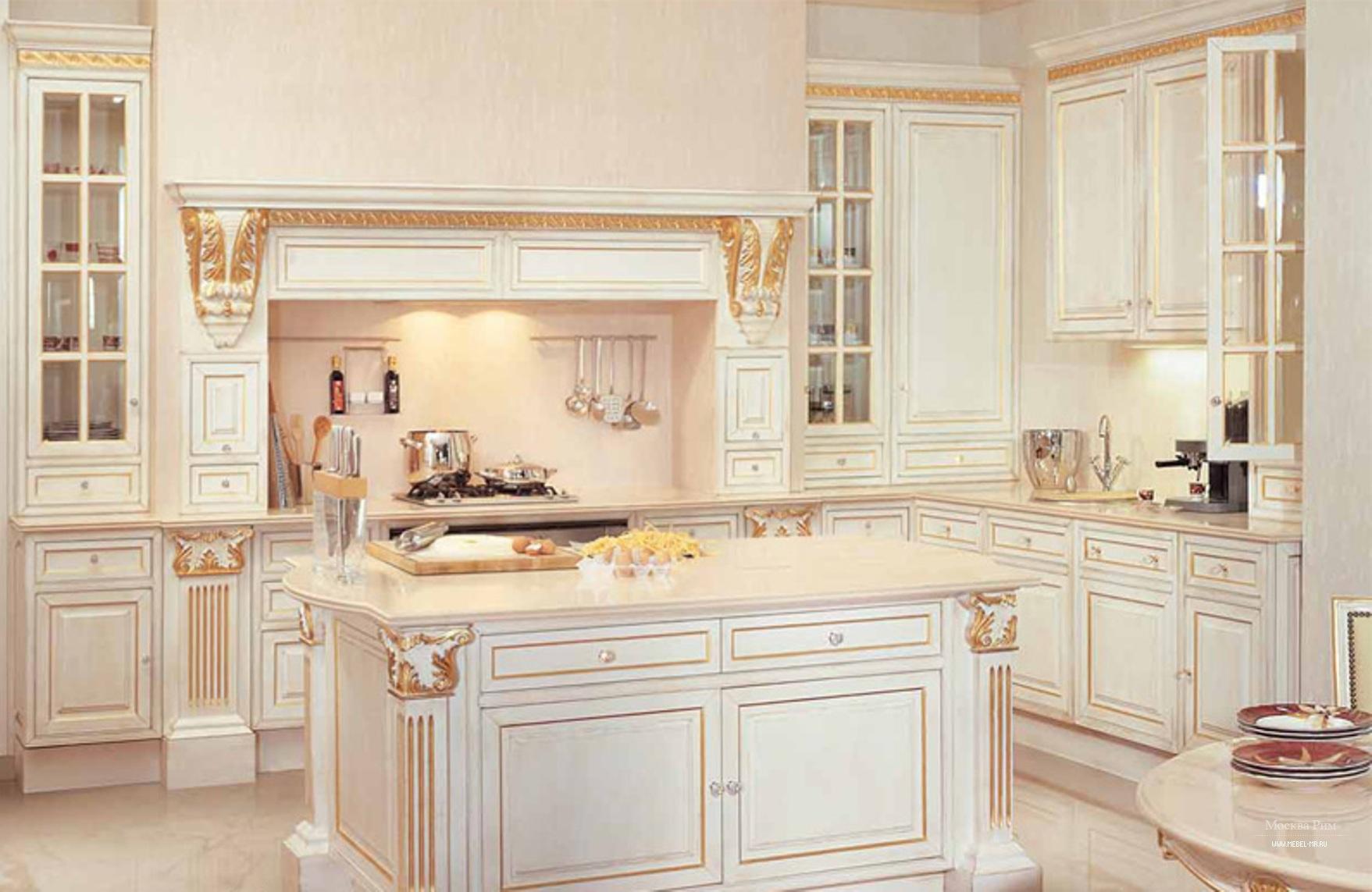 Дизайн классической итальянской кухни