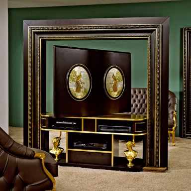 Панель под ТВ Revolving Home Cinema