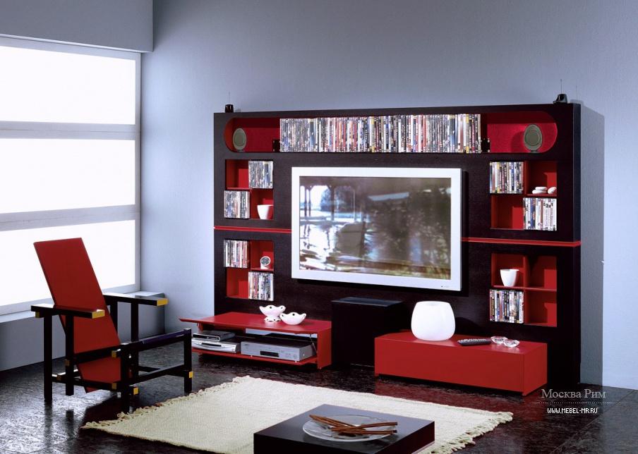 Дизайн мебели для домашнего кинотеатра