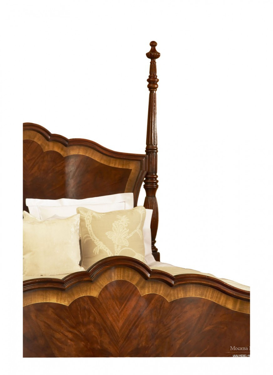 Drexel mahogany 4 poster king size bed price