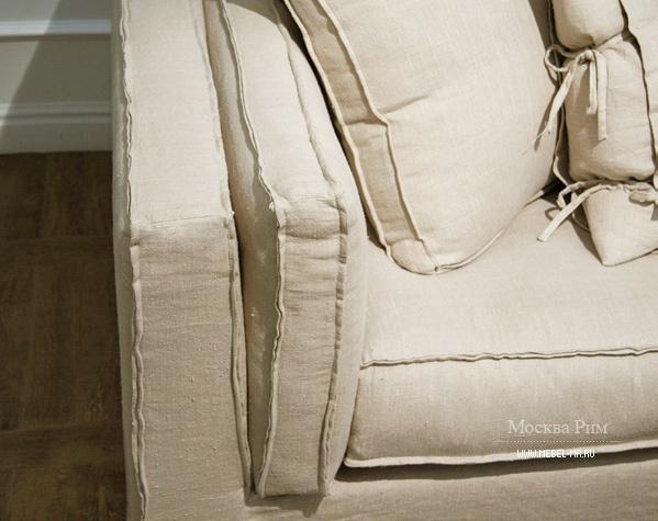 Диван двухместный со съемными подушками Landscape, Ville Venete ...