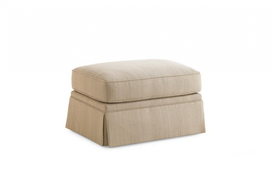 Пуф Portland Skirted Ottoman, Caracole Light