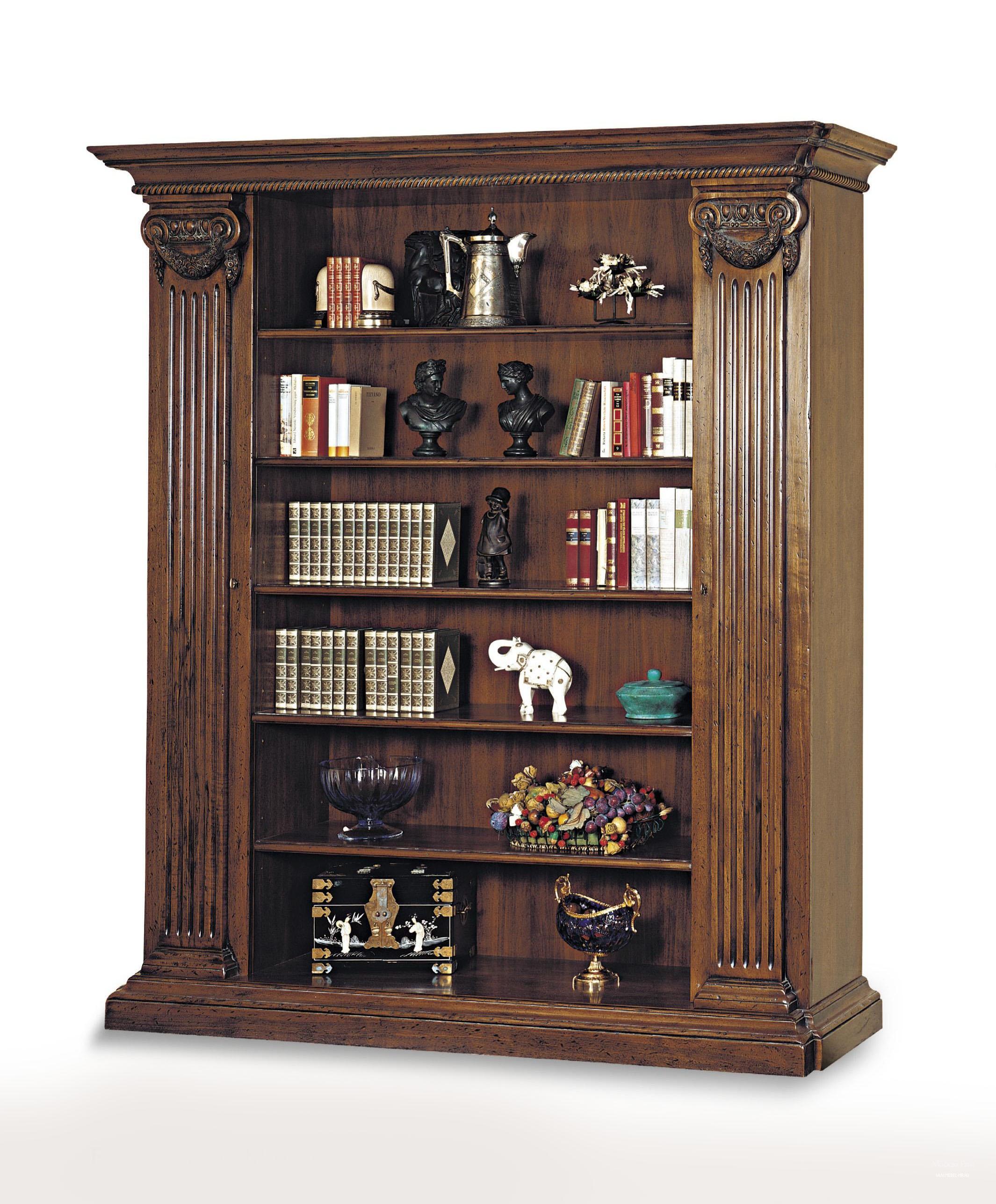 Шкаф - mfmn/0367. книжный шкаф с открытыми полками от фабрик.