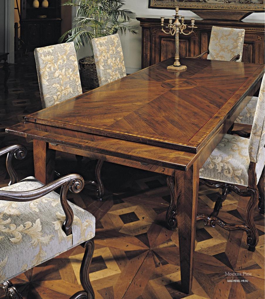 Обеденный стол натуральное дерево