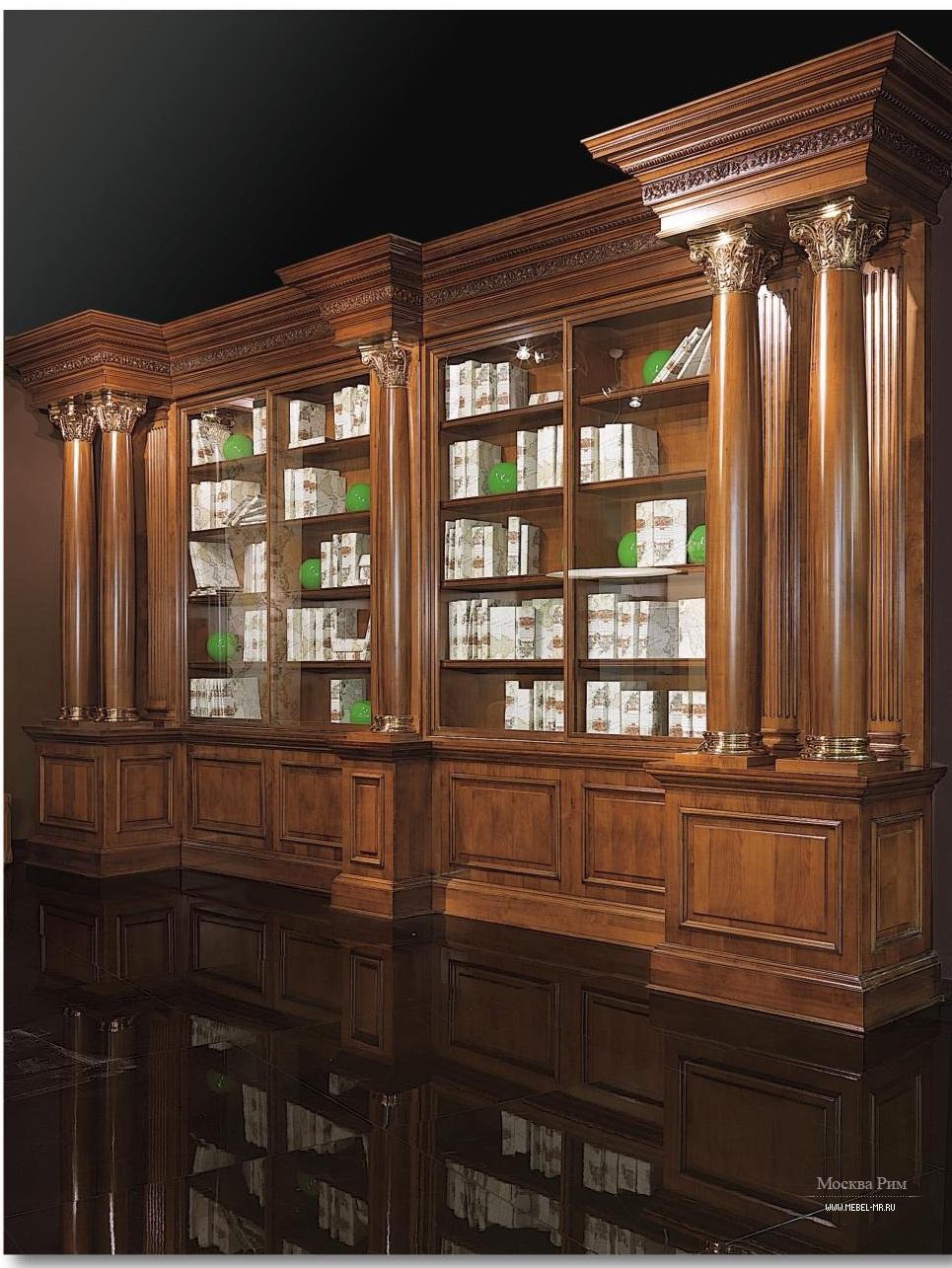 Библиотека fidia/library-legno из италии производства elledu.
