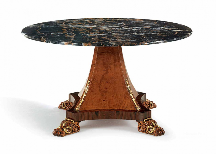 Столик журнальный Round Table – Marble Top, Zanaboni