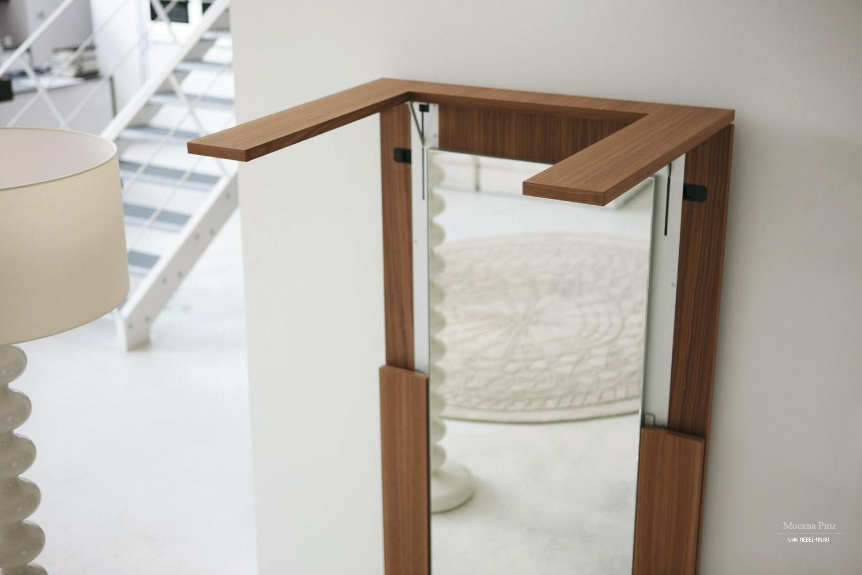 Раскладной обеденный стол зеркало, tip over - porada - мебел.