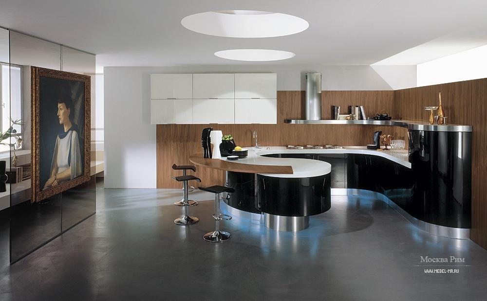 Кухни угловые с барной стойкой фото дизайн