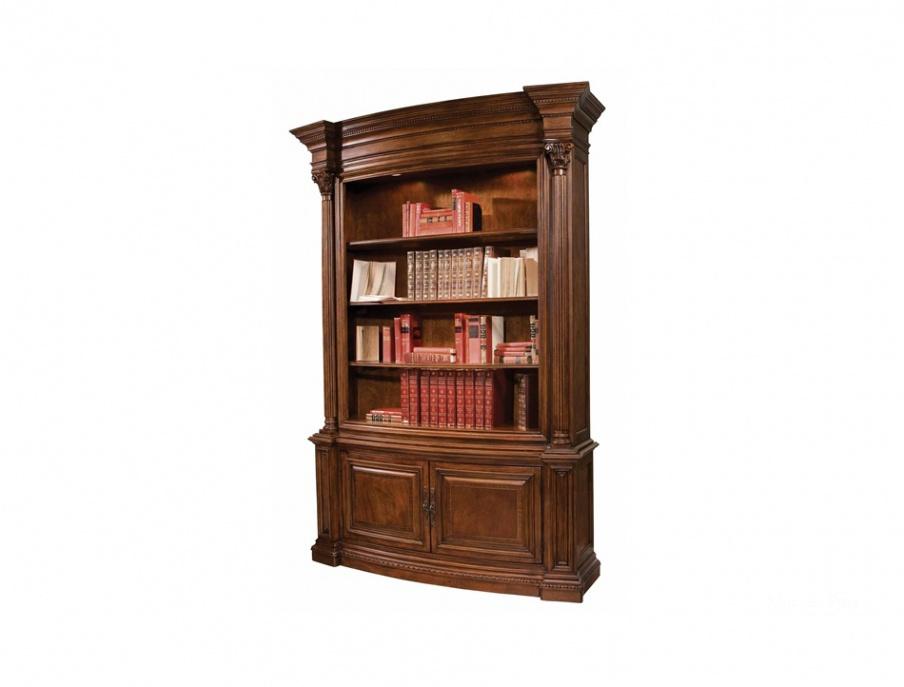 Шкаф книжный с подсветкой orleans, hekman contract - мебель .