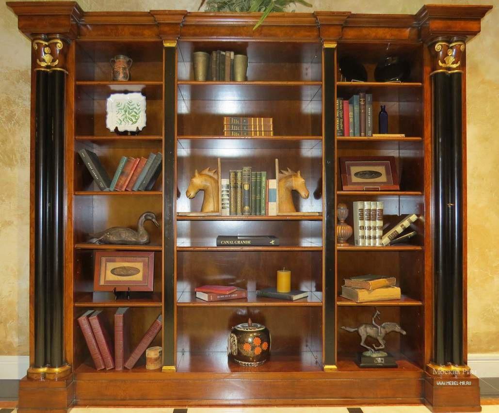 Книжный шкаф из натурального дерева, francesco molon - мебел.